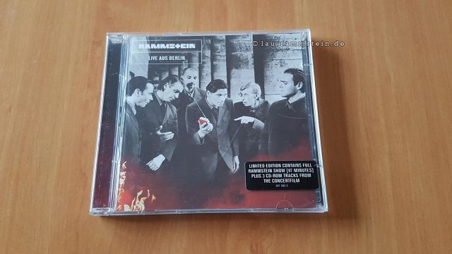 Rammstein - Live Aus Berlin (Limited Edition, 2CD) | 1