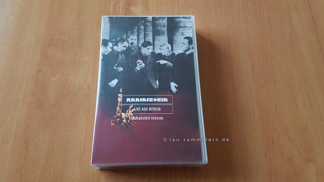 Rammstein - Live Aus Berlin (VHS, Unzensierte Version) | 1