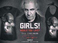 Till Lindemann: Badly - Wear veröffentlicht Lindemanns T-Shirt für Mädels
