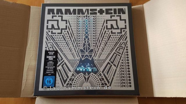 Rammstein: Paris (Deluxe Box Edition - CD, Blu-Ray, Vinyl) | Neu | 1