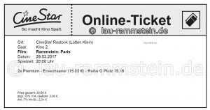 Rammstein: Paris | Kinoticket