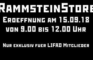 Erster RammsteinStore in Berlin | Pre-Opening exklusiv für LIFAD Mitglieder