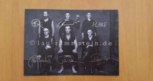 Rammstein - Gedruckte Autogrammkarte 2017 | 1