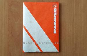 Rammstein - Reise, Reise Reisepasscover | 1