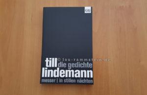 Till Lindemann - Die Gedichte Buch (Messer | In stillen Nächten) | 1