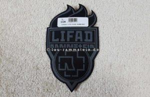 Rammstein - Aufnäher LIFAD Fackel | 1