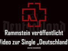 Rammstein veröffentlicht Video zur Single Deutschland