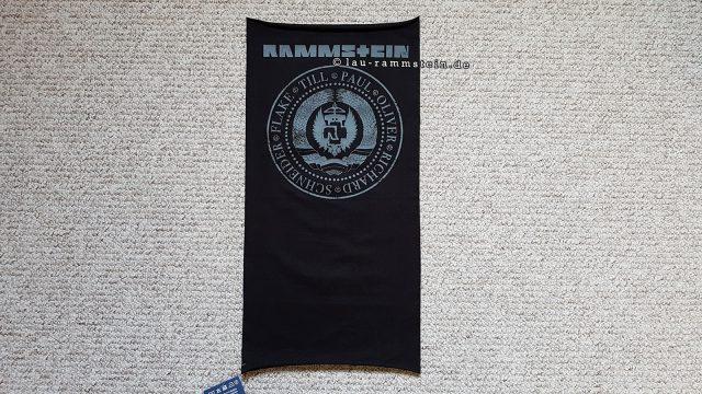 Rammstein - Multifunktionstuch Est. 1994 | Schwarz | 1