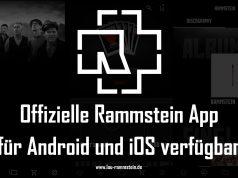 Offizielle Rammstein App für Android und iOS verfügbar | 1
