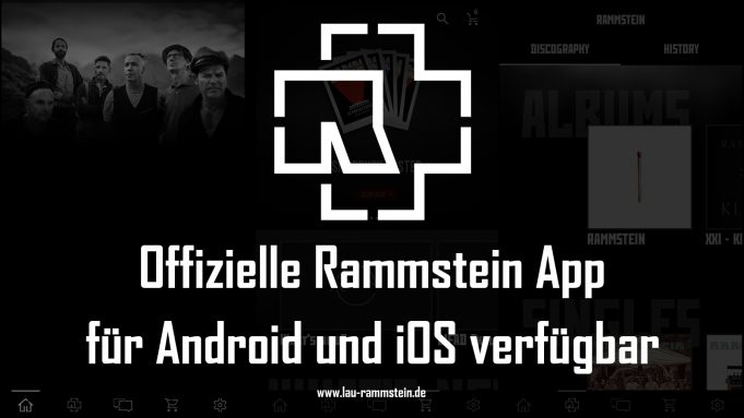 Offizielle Rammstein App für Android und iOS verfügbar   1