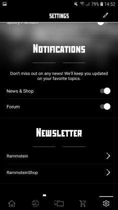 Offizielle Rammstein App für Android und iOS verfügbar   12