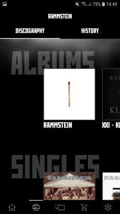 Offizielle Rammstein App für Android und iOS verfügbar   3