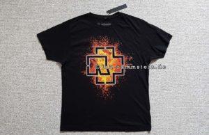 Rammstein - Lava Logo T-Shirt | 1