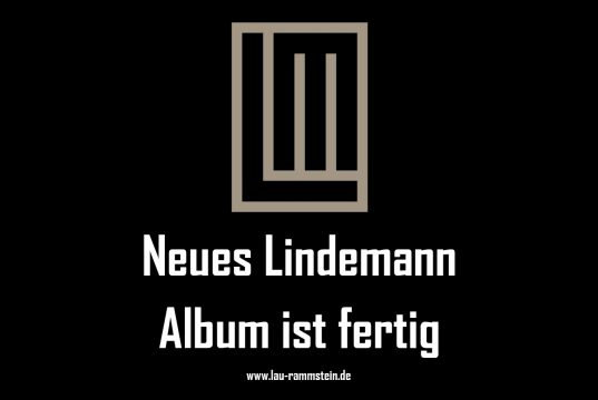 Neues Lindemann Album ist fertig