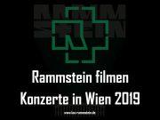 Rammstein filmen Konzerte in Wien 2019 | 1