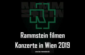 Rammstein filmen Konzerte in Wien 2019   1