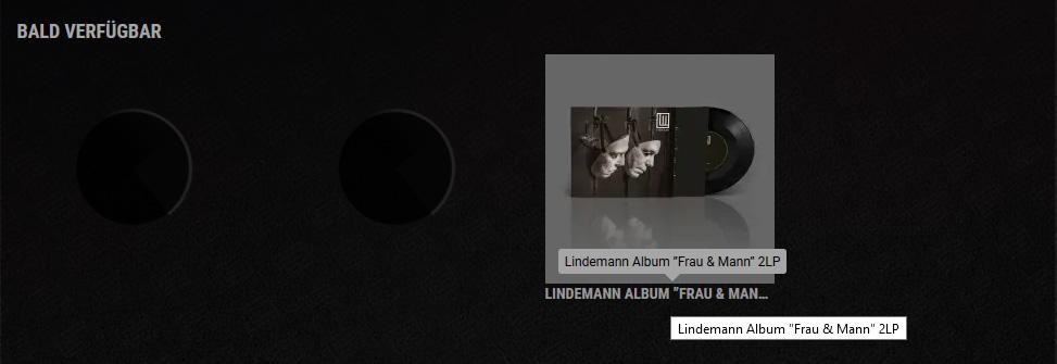 Lindemann - Frau und Mann Album Leak