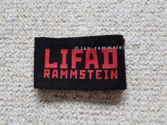 Rammstein - LIFAD Armbinde