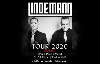 Lindemann Tour 2020: 3 neue Daten für Russland