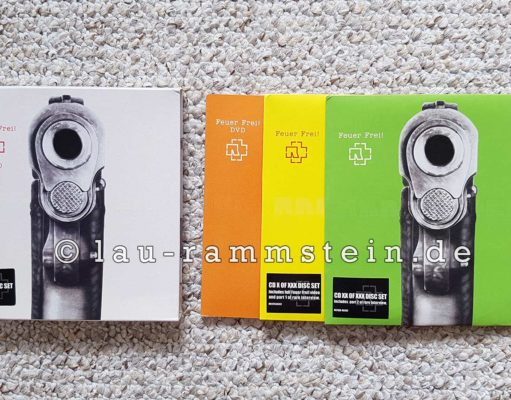 Rammstein - Feuer Frei! (Limited UK Box Set)   1