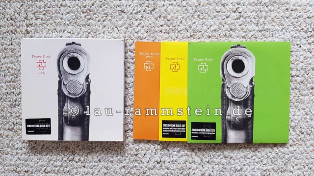 Rammstein - Feuer Frei! (Limited UK Box Set) | 1