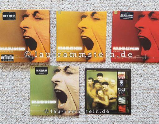 Rammstein - Ich will (Limited UK Box Set)