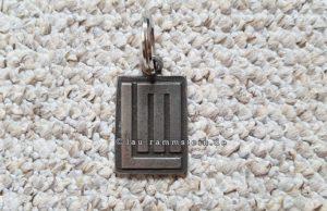 Lindemann - Logo Schlüsselanhänger (Handmade)
