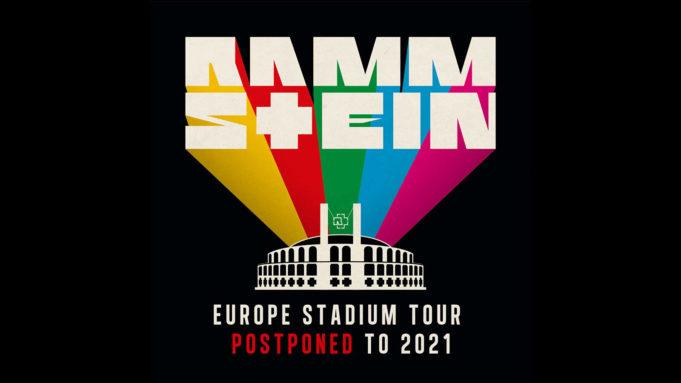 Rammstein Europa Stadion Tour 2020 offiziell auf 2021 verschoben