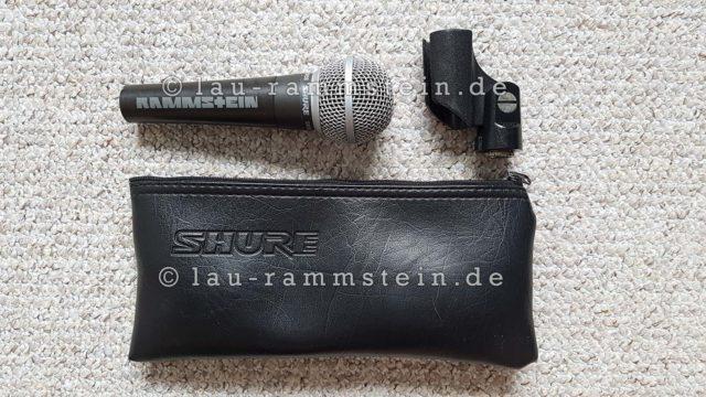 Rammstein - Limited Shure SM58 (Mikrofon) | 1
