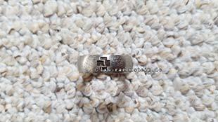 Rammstein - Ring (Edelstahl, brünierte Gravur) | 2